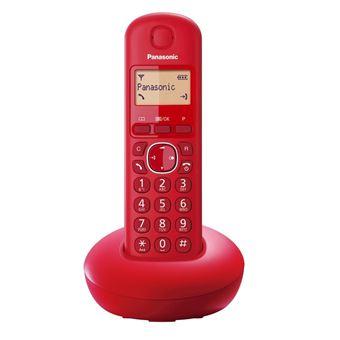 Teléfono inalámbrico Panasonic KX-TGB210SP rojo Dect
