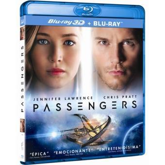 Passengers - Blu-Ray + 3D