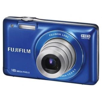 Fuji JX550 Azul Kit(Tarjeta SD 8GB + Funda) Cámara Compacta Digital