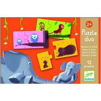 Puzzle dúo mamá y bebé