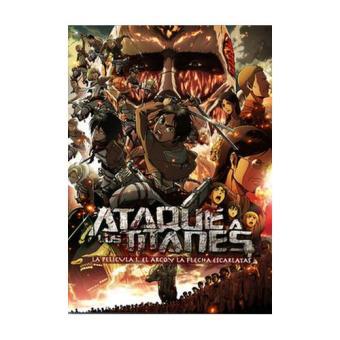 Ataque a los Titanes. El arco y la flecha - DVD