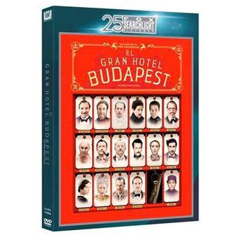 El Gran Hotel Budapest  Ed 25 Aniversario Fox Searchlight - DVD
