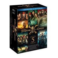 Pack Piratas del Caribe - 1-5 - Blu-Ray