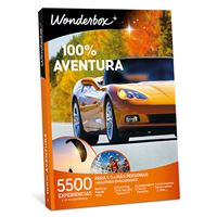 Caja Regalo Wonderbox - 100% aventura