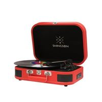 Tocadiscos Bluetooth Swingson On Stage Rojo
