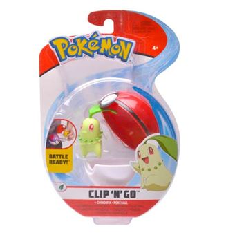 Poké ball Clip N Go Pokémon Bizak- Varios modelos