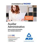 Aux administrativo ayto madrid exam