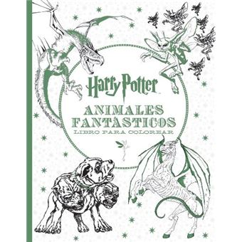 Harry Potter Animales Fantásticos Libro Para Colorear 5 En