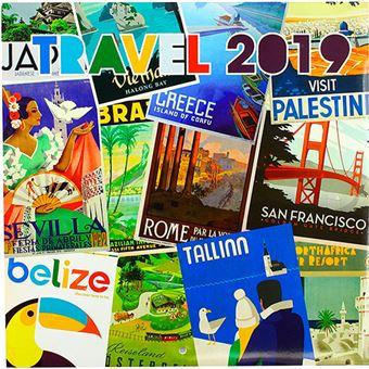 Calendario 2019 Travel