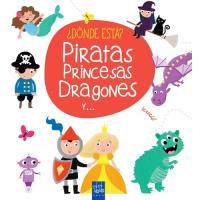 ¿Dónde está? piratas, princesas, dragones