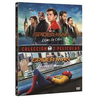 Pack Spiderman: Homecoming + Lejos de casa - DVD