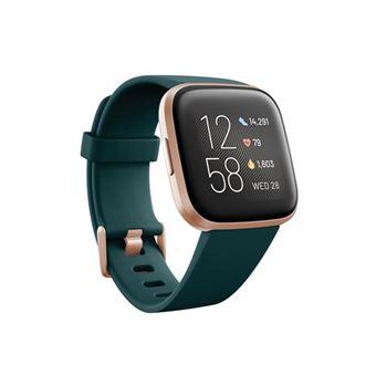 Smartwatch Fitbit Versa 2 Esmeralda/Rosa
