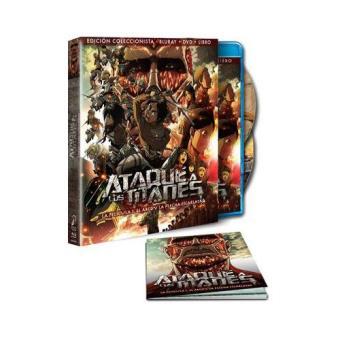 Ataque a los Titanes: Parte 1. El arco y la flecha - Blu-Ray,  Ed coleccionista