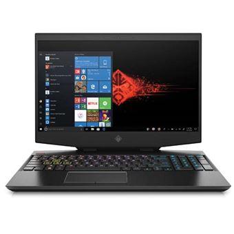 Portátil gaming HP 15-dh0001ns 15,6'' Negro