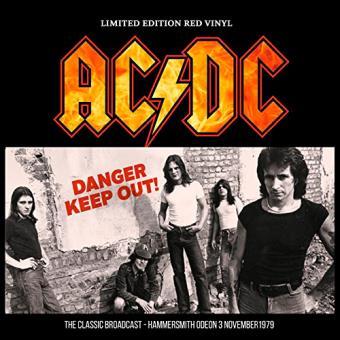Danger - Keep Out! - Vinilo rojo
