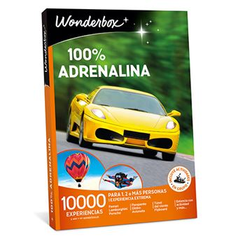Caja Regalo Wonderbox - 100% Adrenalina