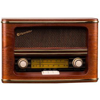 Radio Portátil Vintage Roadstar HRA-1500N Madera