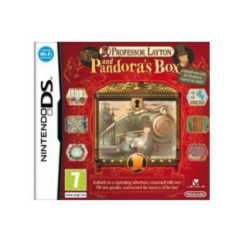 Profesor Layton y la Caja de Pandora Nintendo DS