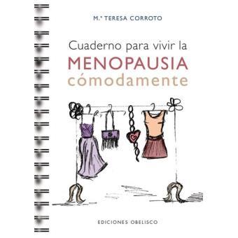 Cuaderno para vivir la menopausia cómodamente