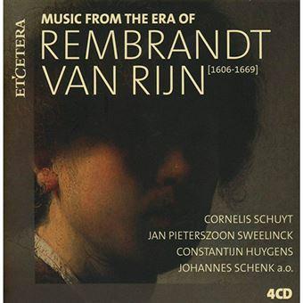 Rembrandt Van Rijn - Music From The Era Of Rembrandt Van Rijn - 4 CD