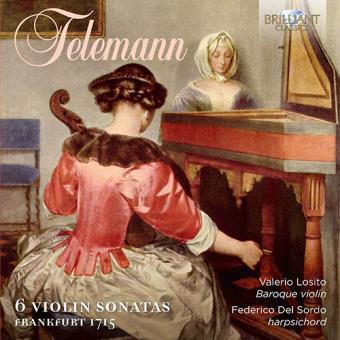 6 Violin Sonatas. Frankfurt 1715