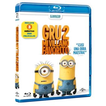 Gru 2, mi villano favorito - Blu-Ray