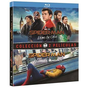 Pack Spiderman: Homecoming + Lejos de casa - Blu-Ray