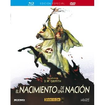 El nacimiento de una nación - Blu-Ray + DVD
