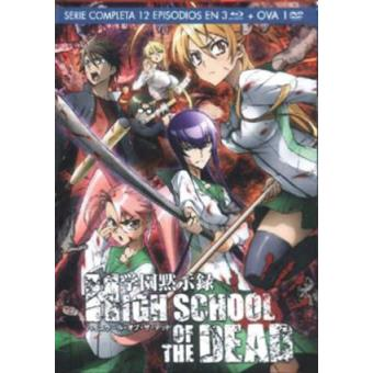 Pack High School Of The Dead + OVA - Blu-Ray + DVD