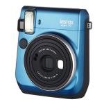 Cámara instantánea Fujifilm Instax mini 70 azul + Carga