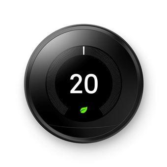 Termostato inteligente Google Nest Learning 3ª Generación Negro