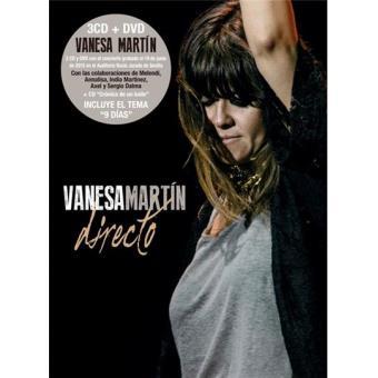 Vanesa Martín. Directo 3 CDs + DVD