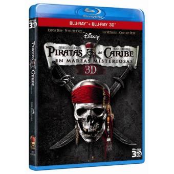 Piratas del Caribe 4: En mareas misteriosas - Blu-Ray + 3D