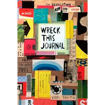 Wreck This Journal. Now in Color