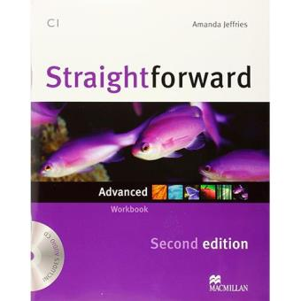 STRAIGHTFWD Adv Wb Pk -Key 2nd Ed