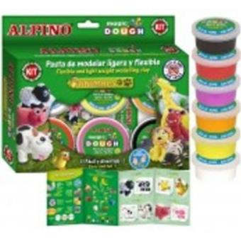 Alpino Magic Dough Animales 6 colores