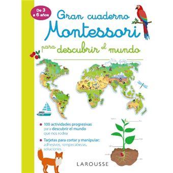 Gran cuaderno Montessori para descubrir el mundo