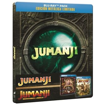Pack Jumanji 1-2 - Blu-Ray