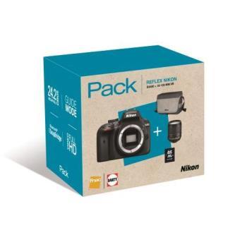 Cámara Réflex Nikon D3400 + AF-S DX 18-105 mm VR Pack