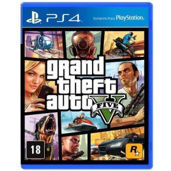 GTA V - Grand Theft Auto PS4