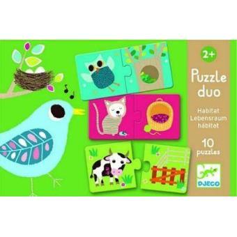 Puzzle dúo hábitat