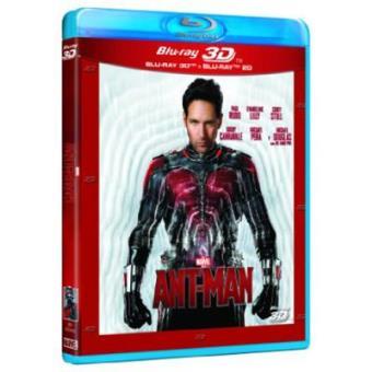 Ant-Man - Blu-Ray + 3D