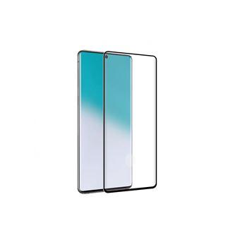 Protector de pantalla antibacteriano Muvit Cristal templado Marco negro para Samsung Galaxy Note 20/Note 20 5g