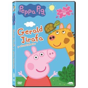 Peppa Pig - Gerald Jirafa y otras historias - DVD