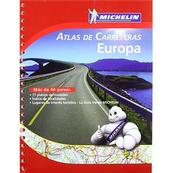 Atlas de carreteras Michelin - Europa