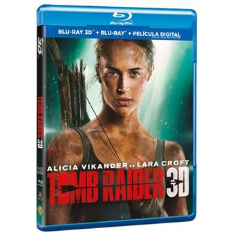 Tomb Raider (2018) - 3D + Blu-Ray