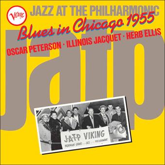 Jazz at the Philharmonic - Blues in Chicago 1955 - Vinilo