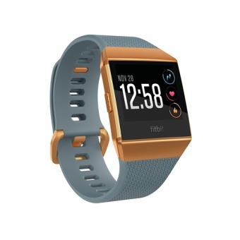Smartwatch Fitbit Ionic Azul pizarra - Naranja fuego Talla única