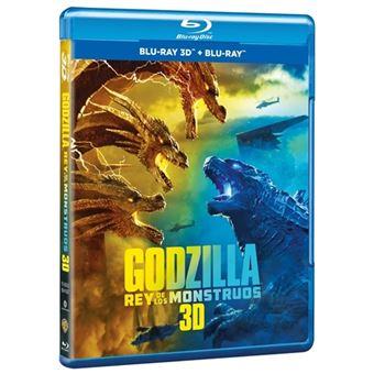 Godzilla Rey de los monstruos  - 3D + Blu-Ray