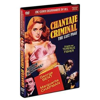 Chantaje criminal - DVD
